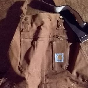Brand New lined Carhartt overalls
